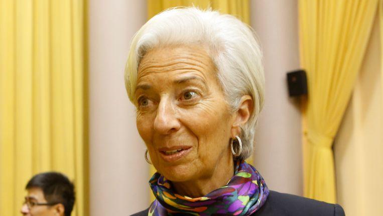 Directeur van het IMF Christine Lagarde.