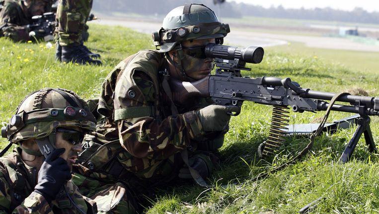 Defensie hield deze weeke en grootschalige oefeningen in het noorden van het land. © ANP Beeld