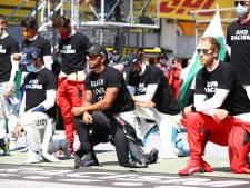 La majorité des pilotes ont posé un genou à terre avant le GP d'Autriche
