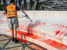 Den Haag doet aangifte na bekladding: Indisch Monument beveiligd en bewaakt