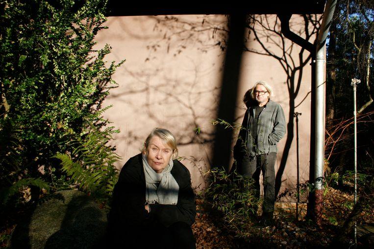 Ute und Werner Mahler.  Beeld  Foto Ingo Taubhorn / Deichtorhallen