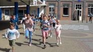 Leerlingen lopen dwars door Vlaanderen