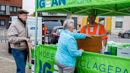 Igean start met mobiel recyclagepark in Aartselaar