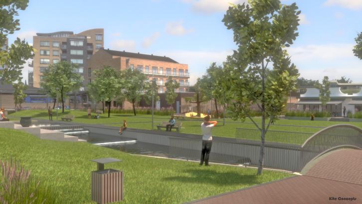 Spectaculair plan voor groene oase in hartje Oss: Park Eikenboomgaard