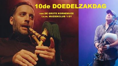 Deze week in muziekclub 't Ey: Doedelzakdag en Anxo Lorenzo Trio