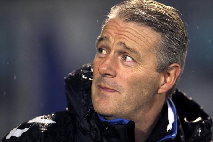 AGOVV-trainer Hans de Koning. FOTO PRO SHOTS