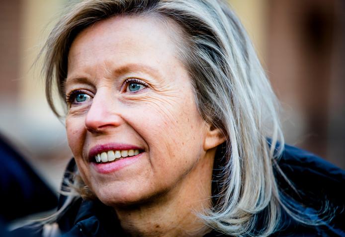 Minister Kajsa Ollongren: 'experimenteren'.