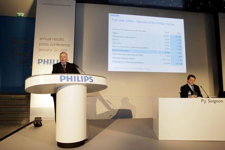 Topman Gerard Kleisterlee van Philips (ANP) Beeld