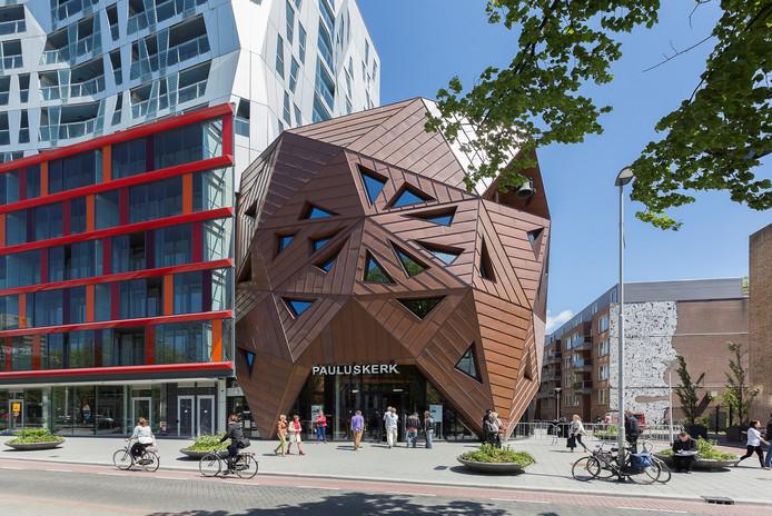 De Pauluskerk aan de Mauritsweg in Rotterdam.