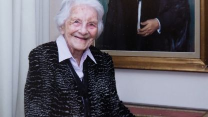 Nu al gemist door 119 nakomelingen: oudste Gentse Felicitas Van Oudenhove overleden op 110-jarige leeftijd