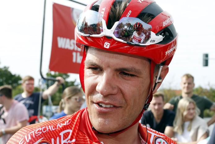 Vainqueur du Tour d'Allemagne en septembre, Jasper Stuyven digère difficilement sa non-sélection pour les championnats du monde.
