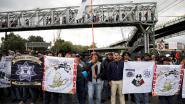 Politieagenten blokkeren luchthaven Mexico-Stad