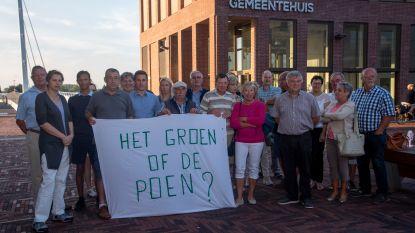 Nieuwe wijk op Blauwe Paal komt er, ondanks massaal protest van de bewoners