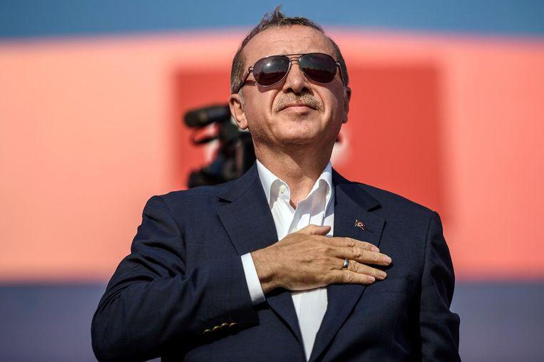 Recep Tayyip Erdogan Beeld anp