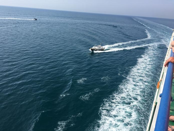 Schipper, mag ik overvaren? Deze fotografe ging met een grote boot over de Tyrreense Zee in Italië. Route:van Sicilië naar Campania.