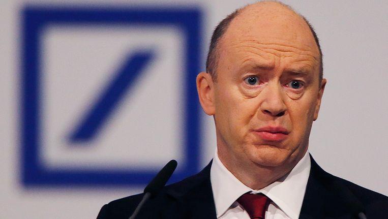 Topman John Cryan van de Deutsche Bank. Beeld AP