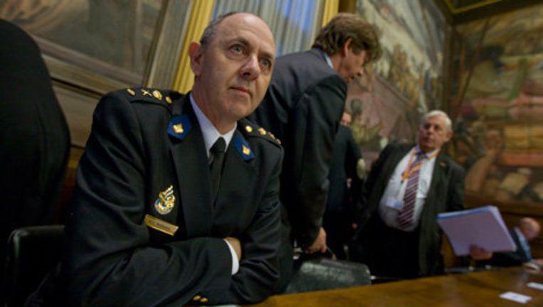 De positie van Korpschef Aad Meijboom kwam in de afgelopen weken onder zware druk te staan. Archieffoto ANP Beeld