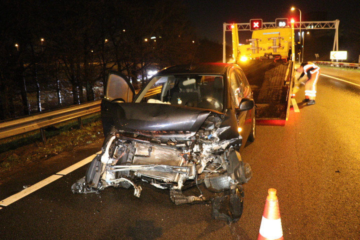 Een vrouw raakte gewond bij het ongeluk in de beruchte Varkensbocht.