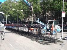 Gemeente begint met ruimen van fietsen bij Smakkelaarsveld