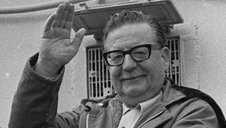 De Chileense oud-president Salvador Allende Beeld AP