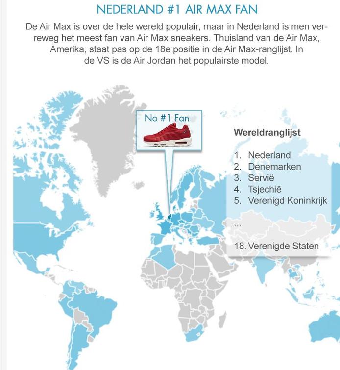 Nike Air Max is 32 jaar! Nederlanders grootste fans ter