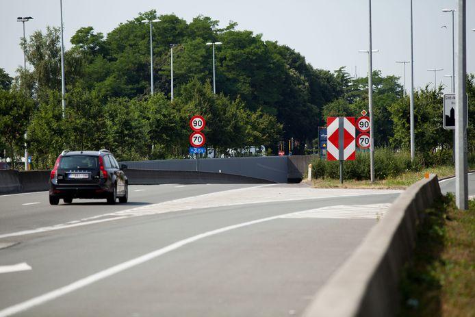 De N31 Expresweg in Brugge.
