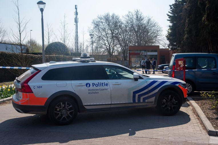 De politie sloot de site van bpost af na een gewapende overval.
