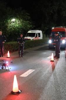 Politie zet speciaal droneteam in voor sporenonderzoek na dramatisch ongeluk Gordelweg
