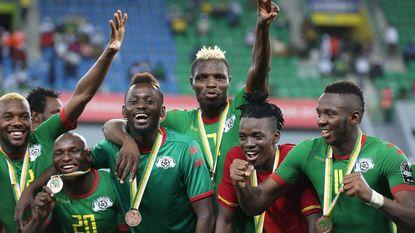 Burkina Faso gaat in het slot met het brons aan de haal