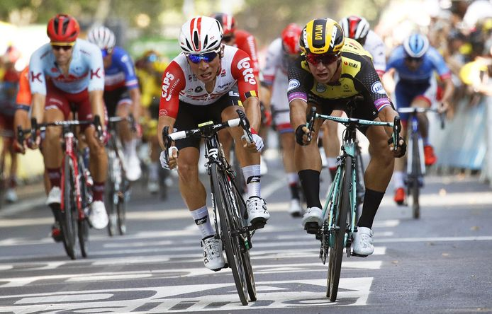 Ewan en Groenewegen gaan de strijd aan in de Tour van 2019.
