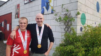 """Gouden G-sporters Liam en Robbin maken zich op voor Nationale Spelen: """"Gouden medaille was voor mijn overleden vader"""""""
