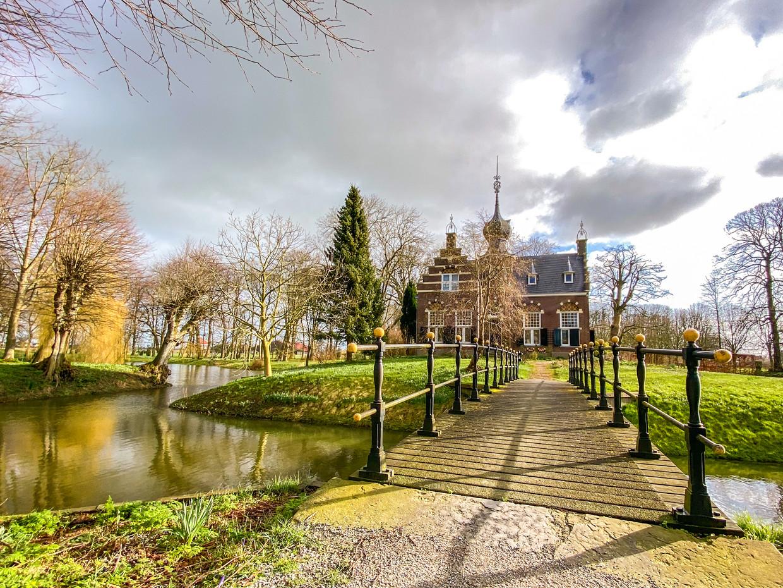 De Martenastate in het Friese Koarnjum.