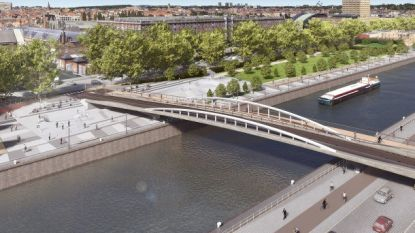 Brusselaars vernoemen nieuwe brug naar holebi-activiste