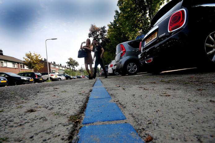 Ondernemers in het centrum van Zevenbergen zeggen dat de blauwe parkeerzone hen dupeert, omdat het maximum van één  uur gratis parkeren te krap is.