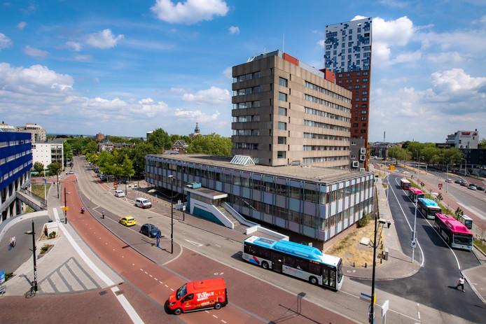 Het voormalige belastingkantoor in Nijmegen.