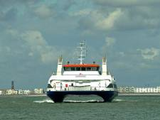 Westerscheldeferry vaart minder door storing aan Prinses Máxima