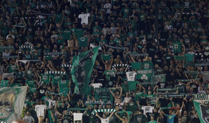 Fans van Panathinaikos