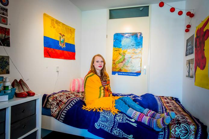 De Finse studente Siina heeft eindelijk een mooie kamer. Maar helaas zonder verwarming.