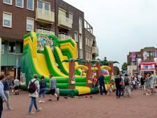 Springkussenfestijn in centrum Rijssen