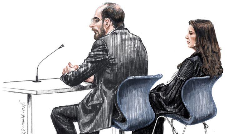 Bart van U. in de rechtbank Beeld