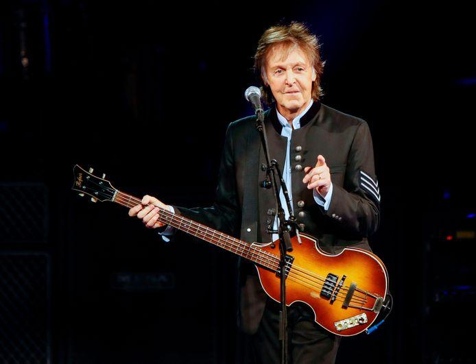 Paul McCartney, en juillet 2017