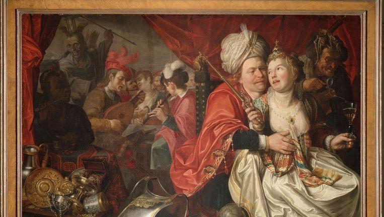 Een van de gestolen schilderijen: Jacob Wabens Vrouw Wereld (1622). Beeld anp