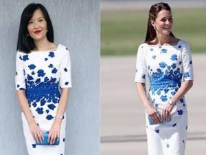 Elle reproduit toutes les tenues de Kate Middleton à moindre coût
