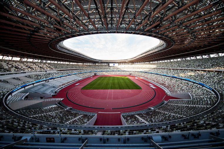 Het Olympisch Stadion in Tokio.