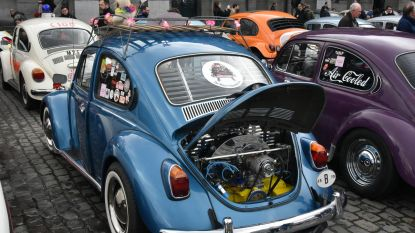 Love Bug-parade lokt 300 VW Kevers