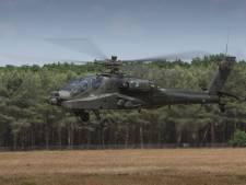 Helikopters Gilze-Rijen  oefenen in Groot-Brittannië