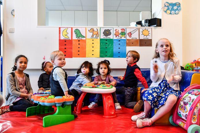 Illustratiebeeld van een kinderopvang.