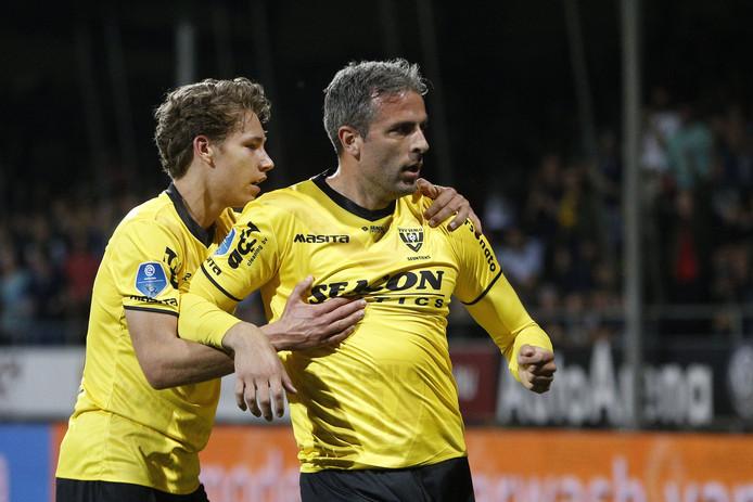 Ralf Seuntjens na zijn goal