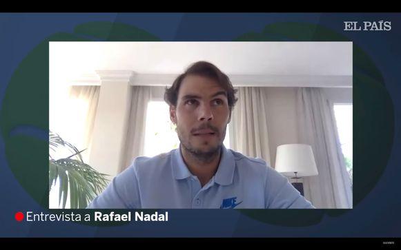Interview El Pais met Rafael Nadal