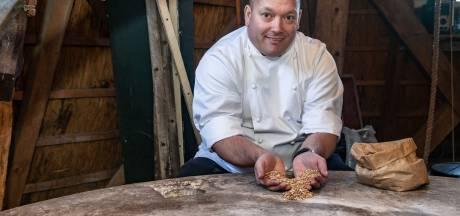 Sterrenkok Jarno werkt met meel van zijn eigen korenmolen in Staphorst